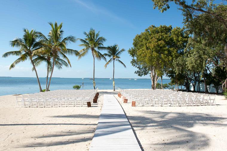 Elegant DIY wedding in Florida