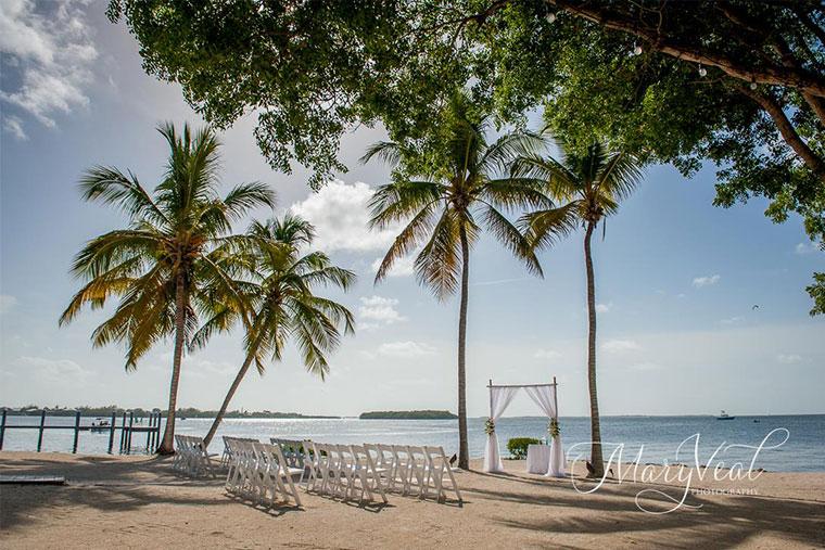 Florida Keys wedding ceremony and receptions.