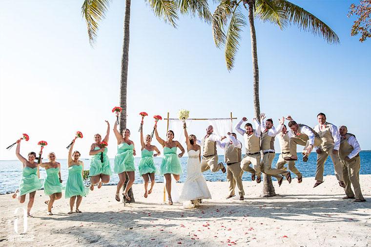 Florida Keys Weddings Key Largo Lighthouse Beach Weddings