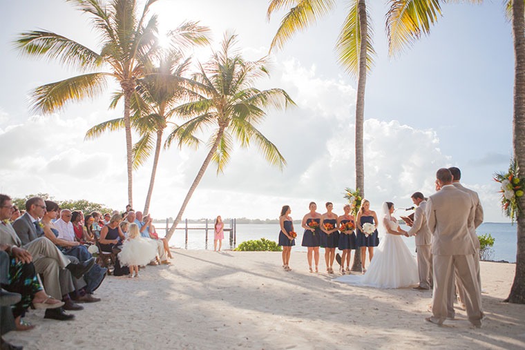 Weddings in Florida and The Florida Keys.