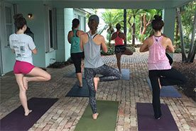 Yoga Key Largo Florida Keys Wedding Packages