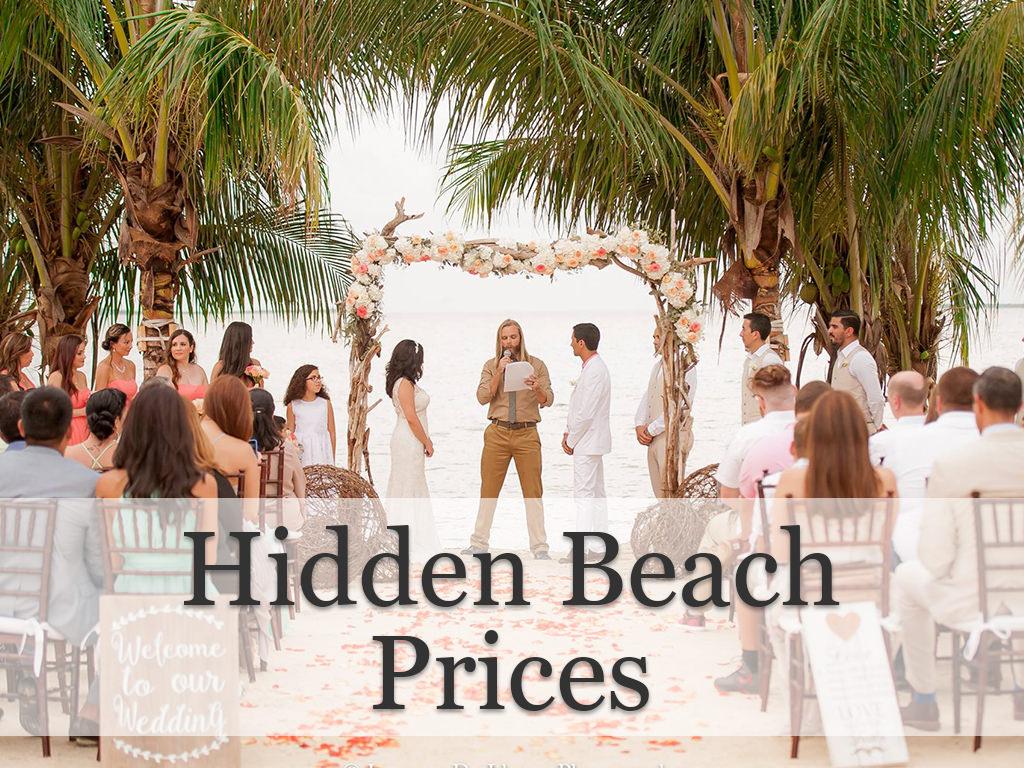 Wedding Venue Hidden Beach