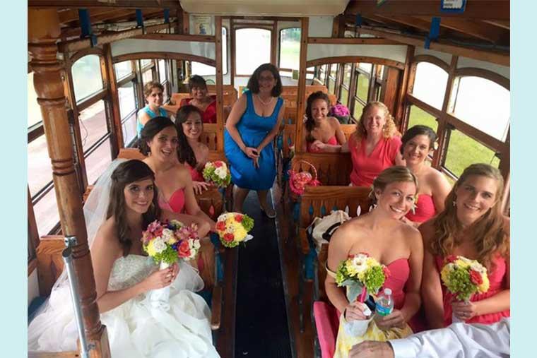 Island Time Trolley, Key Largo Wedding Transportation