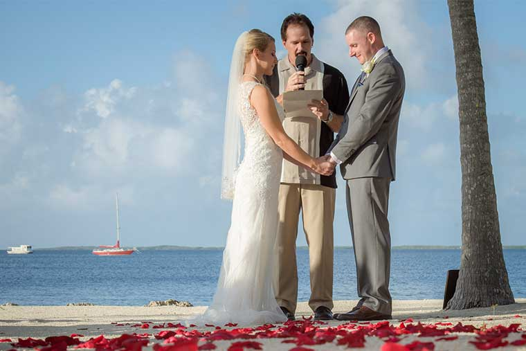 simple keys weddings wedding officiant in florida keys fl key