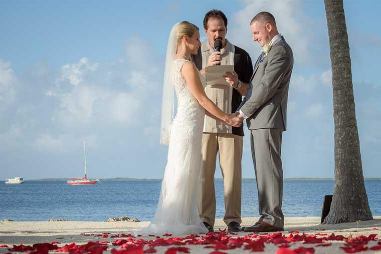 simple keys weddings wedding officiant in florida keys fl key