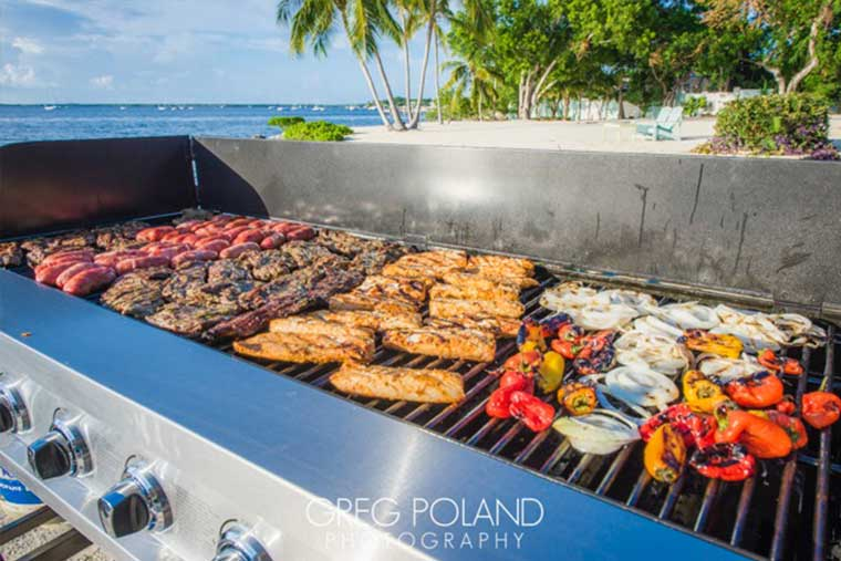 Key Largo Conch House Wedding Catering, Florida Keys