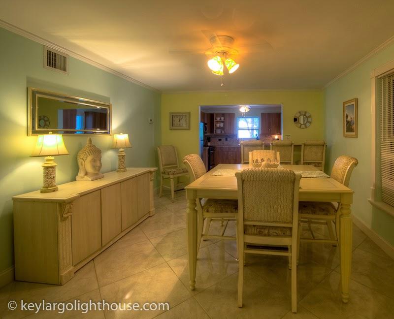 Dinning room, Accommodations Florida Keys weddings