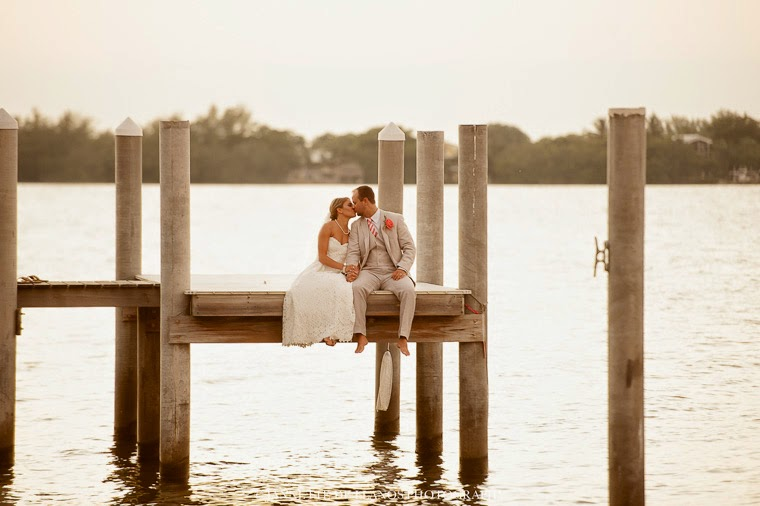 Elegant beach wedding Florida Keys
