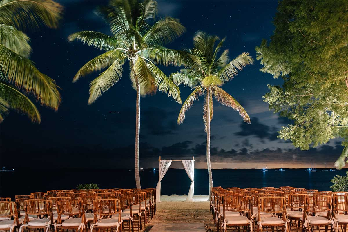 Florida keys weddings key largo lighthouse beach weddings for Pretty places to get married