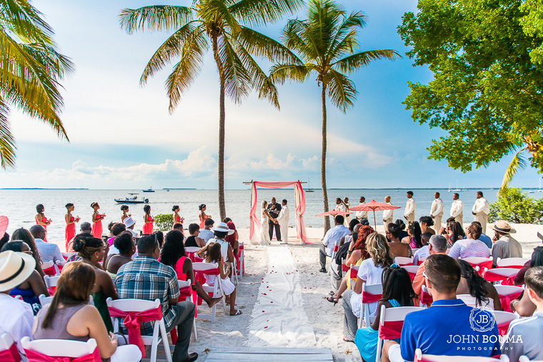 Private Beach Wedding Location In Florida Fl Keys Wedding