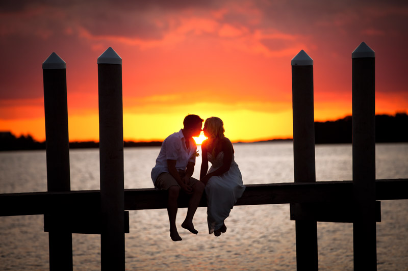 Simple Florida outdoor weddings