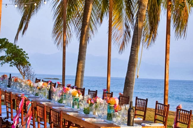 long tables wedding reception surprising elegance On key largo beach weddings