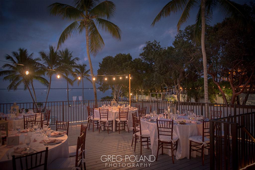 Deack, top beach wedding venues in Florida