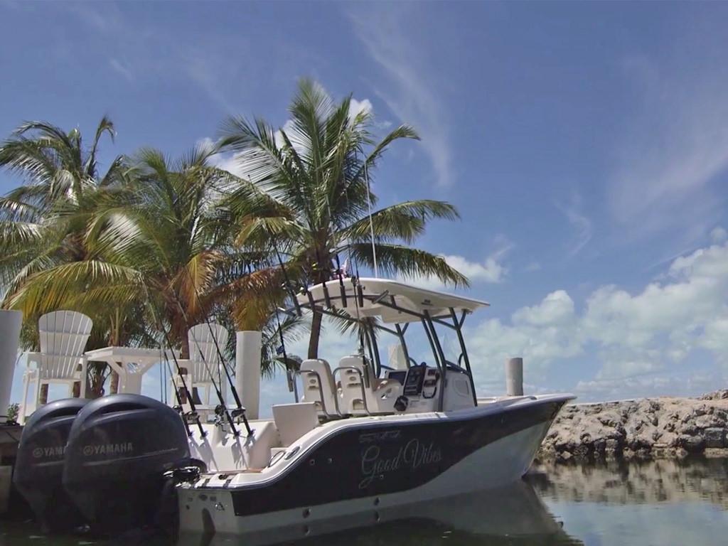 Florida Keys wedding venue, Hidden Beach Boat Dock