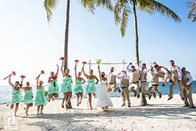 Destination weddings Florida, best beach weddings Florida Keys