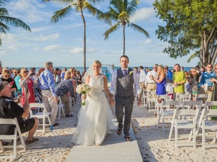 Coral Beach Florida Keys wedding venue