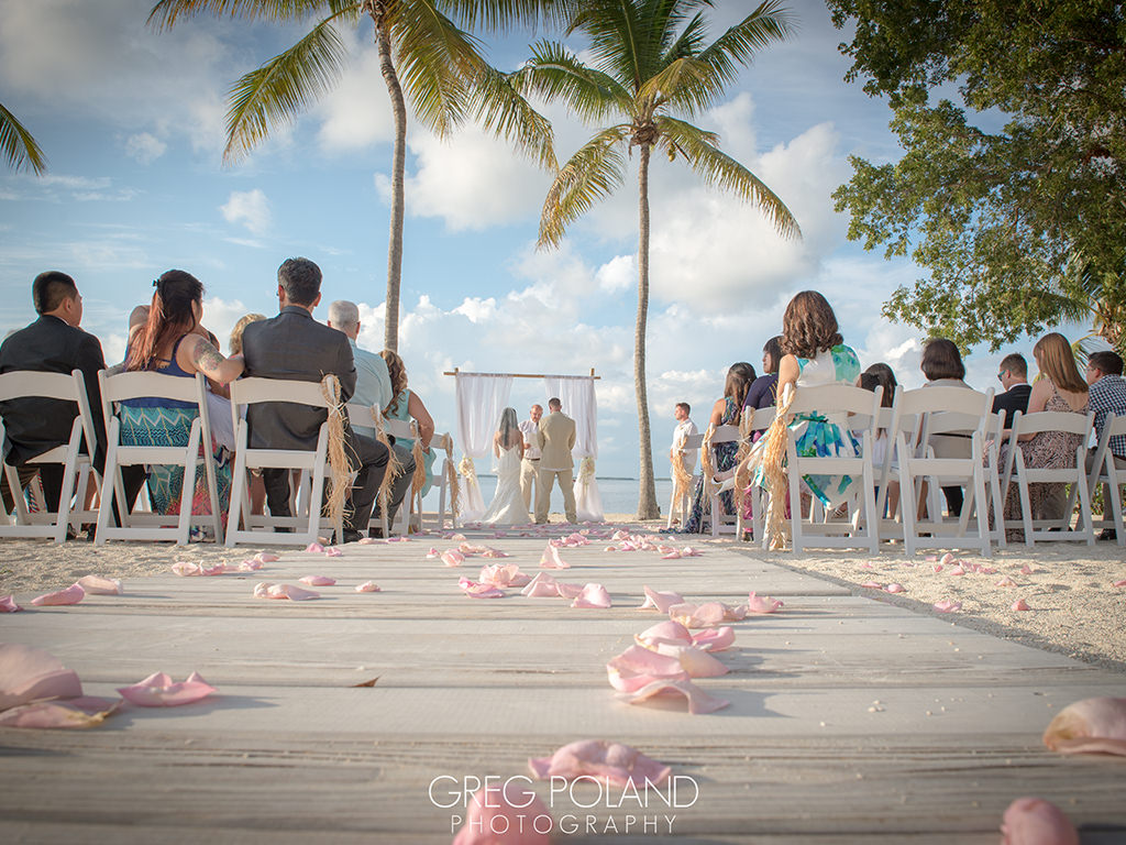 Florida destination wedding locations for private beach weddings.