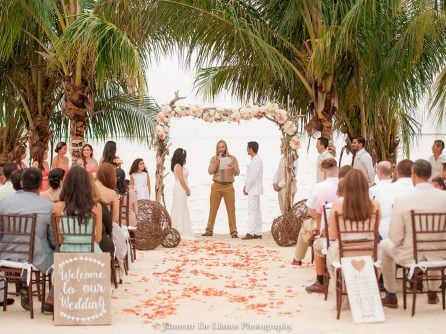 Hidden Beach Florida Keys wedding venue
