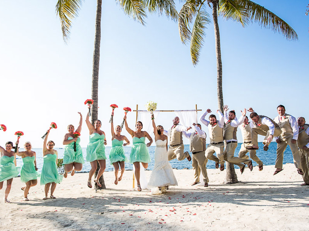 private florida beach weddings in the florida keys