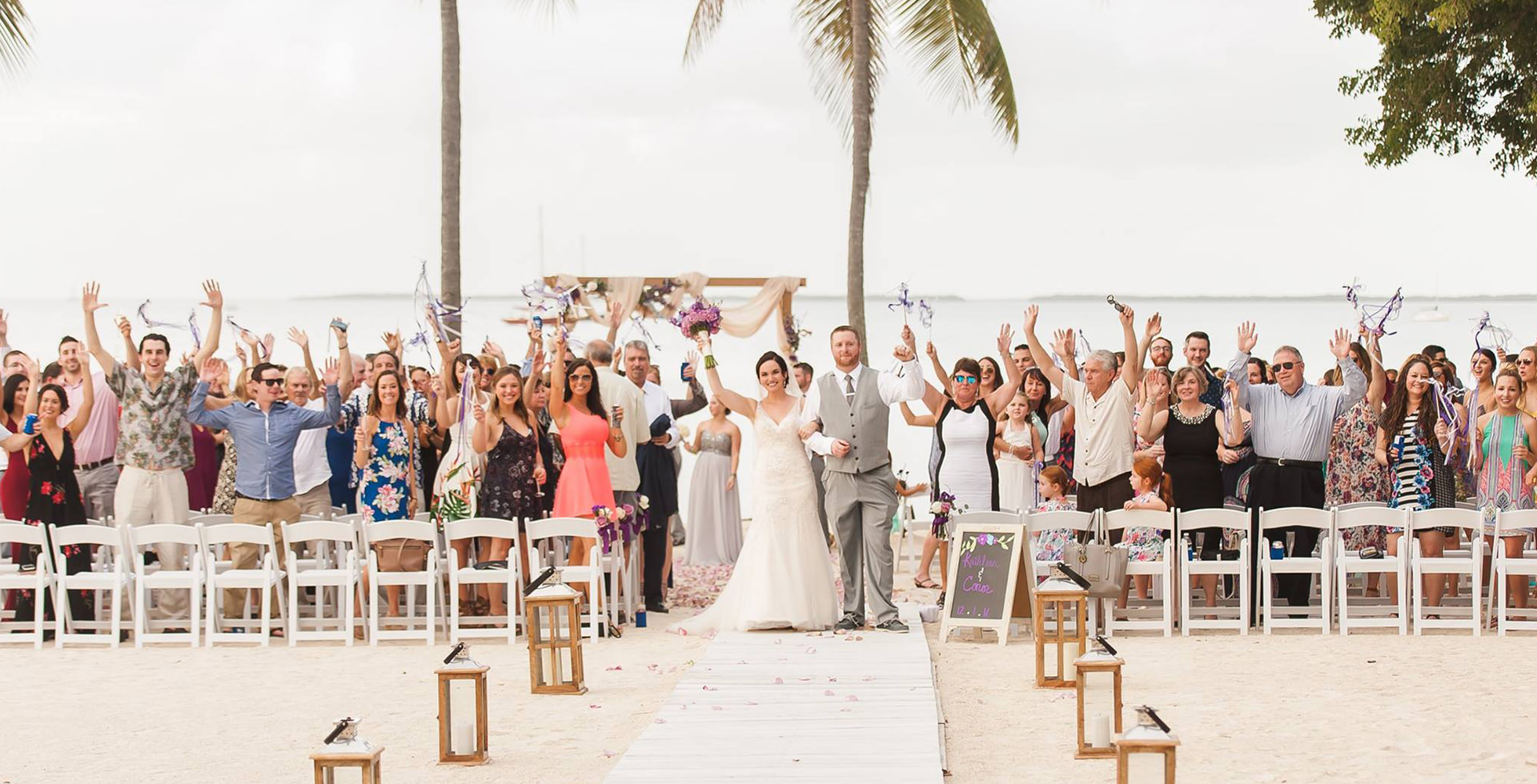 Outdoor Wedding Venues In Florida Up To 150 Guest Pricing O Key Largo Lighthouse Beach Weddings