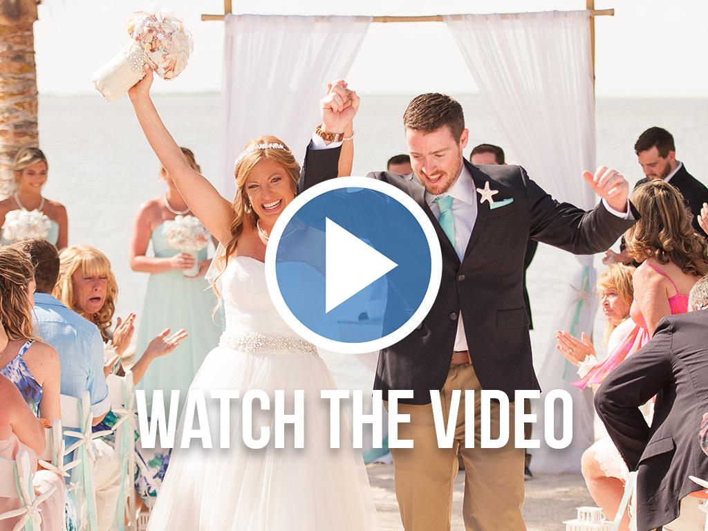 Hidden Beach wedding venue in Florida Keys