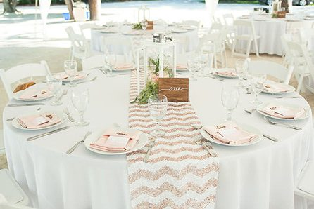 Classic Table decor wedding package - Florida wedding packages