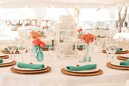Couple's choice - Florida Keys decor and party rentals wedding packages