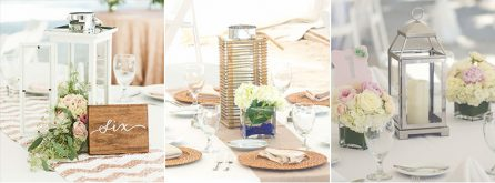 Florida wedding reception decor packages