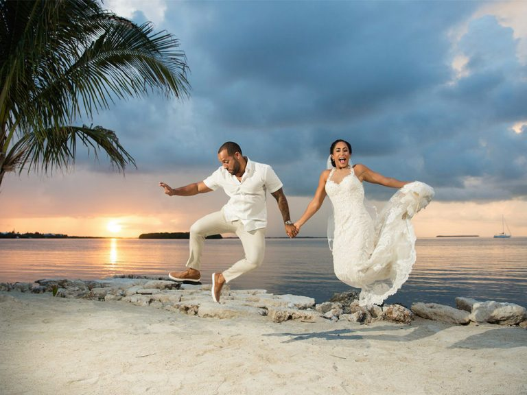 Getting married in Florida, at the best destination wedding locations for beach weddings in Florida