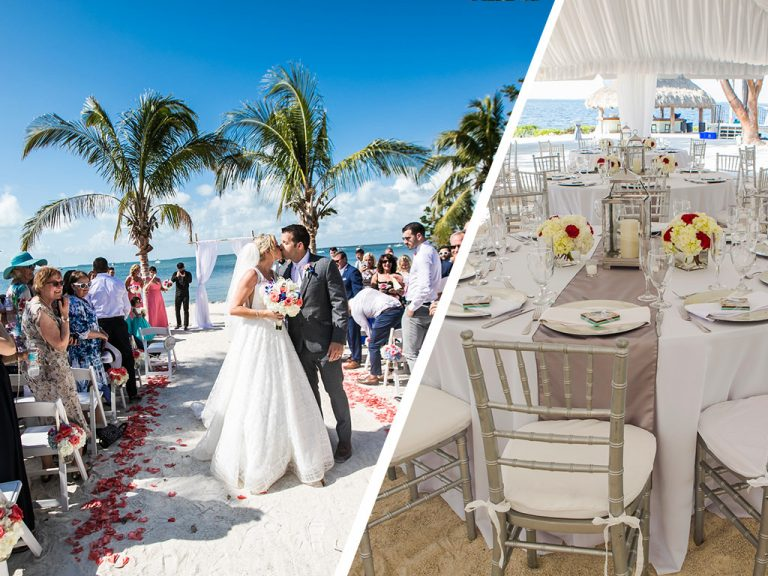 Florida destination weddings, getting married at our wedding venues in Florida Keys, it's like getting married on your own private island.
