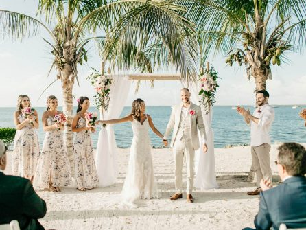 All-inclusive wedding venues in Key Largo Florida: Coral Beach