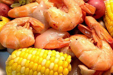 Key Largo catering low country boil