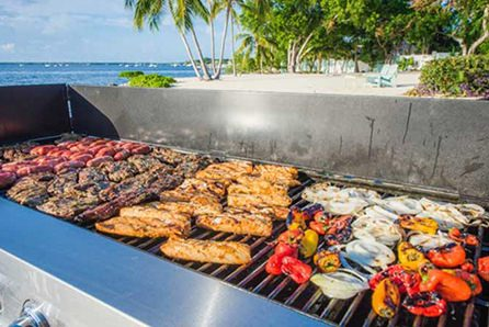 Beach BBQ catering