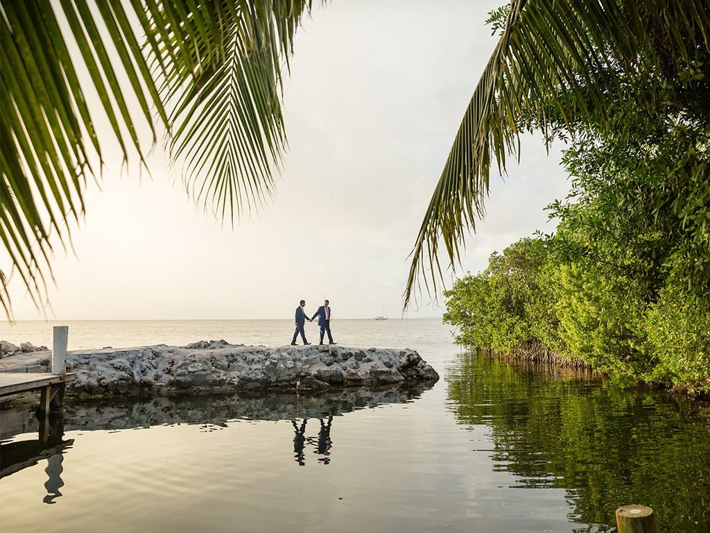 Amazing Florida Keys wedding location in Key Largo