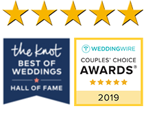 Wedding Wire and The Knot Awards for best destination wedding venues and all-inclusive wedding location in Florida.